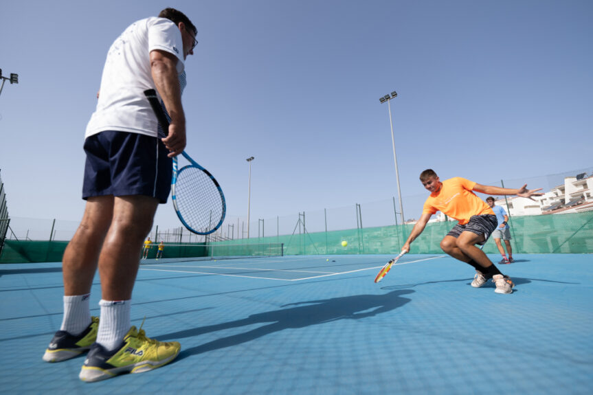 become a professional tennis player