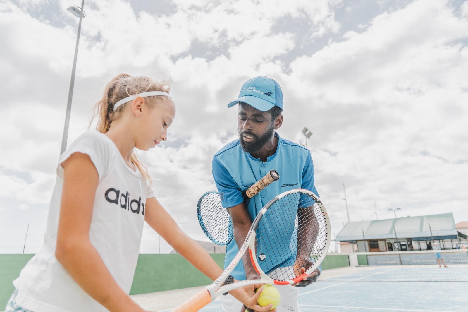 private tennis session