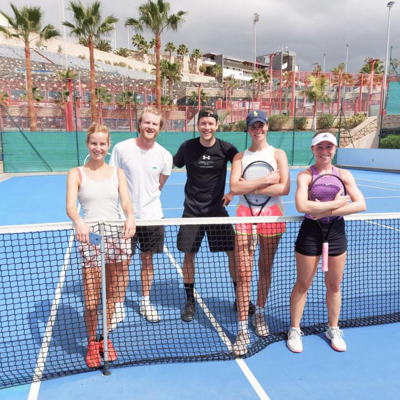 adults group tennis tenerife